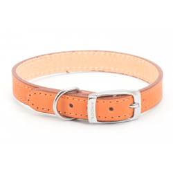Collar Cuero Tan Sewn 45cmx19mm